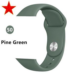 NEW[BAND] P-Green Sport Silicone For Apple Watch